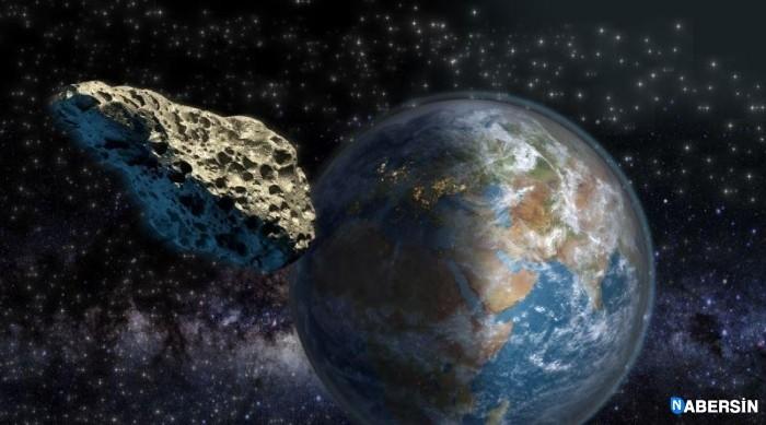 NASA'ya Göre 2020'de Dünyaya Çarpacak Olan Devasa Asteroit